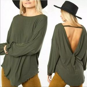 -NWT Free People Large Shimmy Shake Top Arm…